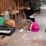 in de lesjes muziektuin leerden we de noten van het notenhuis