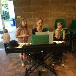 zingen in de muziektuin