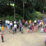 de kamp dans was weer een succes dankzij Liv, Silke, Ini, Noa