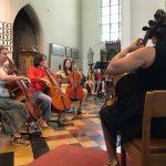 cello lessen op kamp